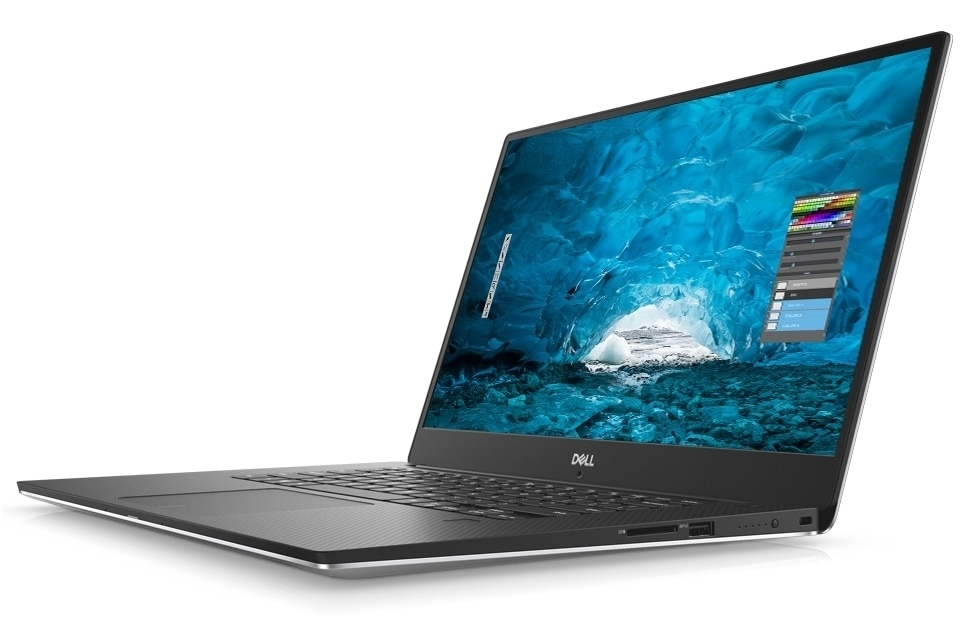 DELL XPS 15 9570 I7-8750H 8GB 1TB + 128GB SSD GTX1050TI WIN10