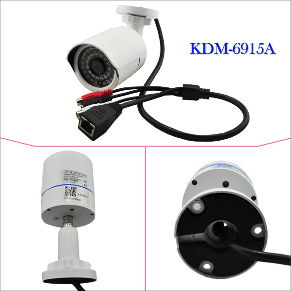 "5MPIX IP CAMERA KDM-6915A 1/2.5"" CMOS 3.6mm"