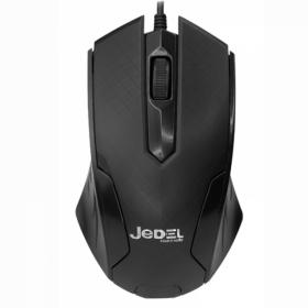 JEDEL OPTICAL MOUSE M10 USB BLACK