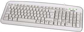 MULTIMEDIA KEYBOARD HAMA-57208 K210 WHITE