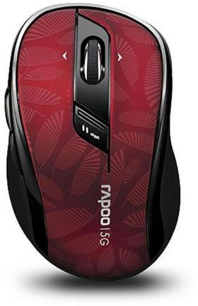 RAPOO 7100P WL OPTICAL MOUSE 5GHZ RED