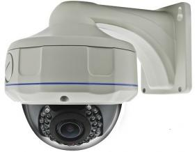 2.0MPIX IP CAMERA KDM-6936B VANDALPROOF 2.8-12 MM + BRACKET