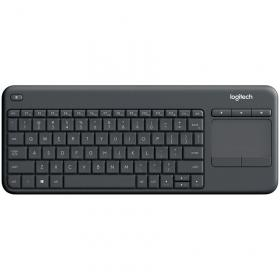 LOGITECH WIRELESS TOUCH  K400 PLUS - DARK - BGR - INTERNATIONAL LAYOUT