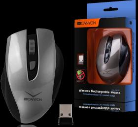 CANYON WL RECHARGEABLE MOUSE CNS-CMSW7 GREY