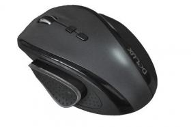 DELUX OPTICAL MOUSE USB BLACK DLM-535