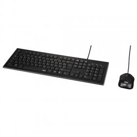 HAMA CORTINO WIRED KEYBOARD+MOUSE USB