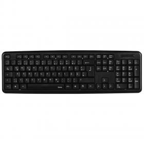 HAMA-53930 KEYBOARD VERANO BLACK USB