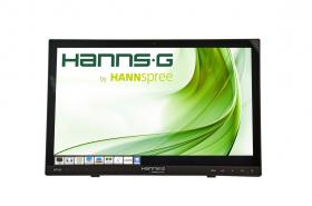 ТЪЧ МОНИТОР HANNSPREE HT 161 HNB, TFT, 15.6 INCH, WHIDE, HD READY, D-SUB, HDMI, 10 POINT TOUCH, ЧЕРЕН