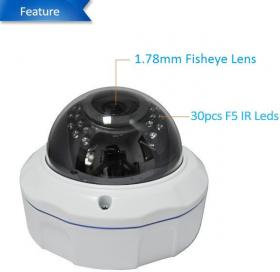 2.0MPIX IP PANORAMIC CAMERA KDM-6936BF 1/2.5