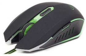 GEMBIRD GAMING MOUSE MUS-001-G GREEN