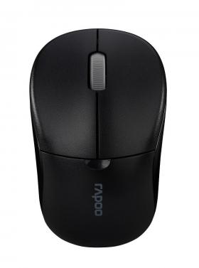 RAPOO WL OPTICAL MOUSE 1090 PRO BLACK