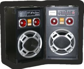 BOOM BOX+MP3 PLAYER+AMPL+KARAOKE WT-1005 BLACK