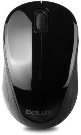 DELUX WL OPTICAL MOUSE DLM-135GB