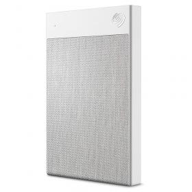 2TB EXTERNAL SEAGATE BACKUP+  ULTRA TOUCH WHITE USB3.0