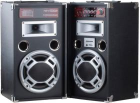 BOOM BOX+MP3 PLAYER+AMPL+KARAOKE WT-8802 BLACK
